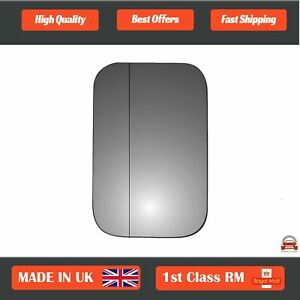 Left Side Stick On Wide Angle Wing Mirror Glass Land Rover Defender 89-20 111LAS