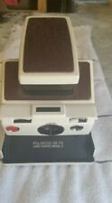 Polaroid SX-70 LAND CAMERA Model 2  White Body Red Leatherette