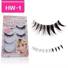 Popular HOT HW-1 Handmade 3 upper + 2 lower mix False Eyelashes beauty lashes P8