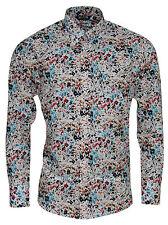 Men's Floral Cotton Regular Casual Shirts & Tops