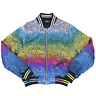 AMIRI Leopard Rainbow Bomber Jacket In Multi RRP £1820 *SOLD OUT WORLDWIDE🌍*