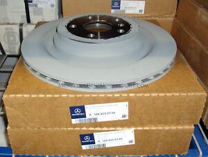 Mercedes-Benz OEM Rear Brake Rotors Disks 2013 to 2016 GL 350 450 550 (Set of 2)