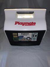 New listing New Igloo Playmate Mini Black Cooler 4902272 - 4 Quarts / 3 Liters / 6 cans