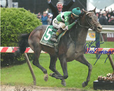 Exaggerator 2016 Preakness Stakes 8x10 Signed Kent Desormeaux