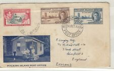 Pitcairn Islands 1946 Victory Illustrated FDC To Liverpool JK292