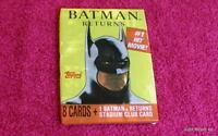 Topps 1991 (Batman Returns) {FIVE} SEALED PACKS OF EIGHT CARDS (7 sets left)