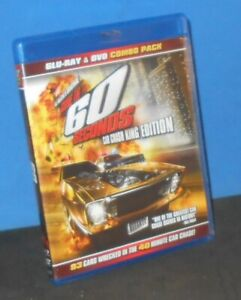Gone in 60 Seconds (Blu-ray/DVD 2-Disc Set, 2012)