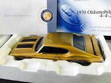 Gorgeous Rich Gold 1970 W-30 442 Franklin Mint 1:24 Mint! New!
