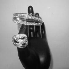 Unbranded Crystal Rhinestone Costume Bracelets