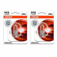 2x Vauxhall Corsa MK2/C Genuine Osram Original Fog Light Bulbs Pair