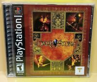 Darkstone  ~ Playstation 1 2 PS1 PS2 Game Mint Disc Complete 1 Owner