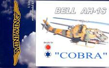 MiniWing Models 1/144 BELL AH-1S COBRA Attack Helicopter