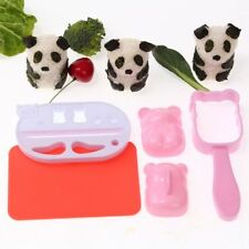 Creative DIY Panda Shape Rice Maker Cute Bento Sushi Tool Onigiri Mold