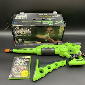 Silent Scope Complete for Xbox with Light Rifle Gun Controller UNTESTED