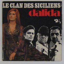 Le clan des Siciliens  45 tours Gabin Ennio Morricone Delon Ventura 1969 Dalida