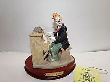 "J.J. Jones ""The Worlds Greatest Clown"" Figurine Statue (Hand Crafted)"
