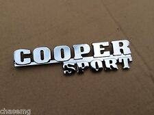 Cooper sport , mini rear boot badge , quality item cooper , s , Austin   Bd3-f1