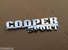 Cooper Sport, MINI posteriore avvio Badge, Qualità Oggetto Cooper, S, Austin bd3-f1