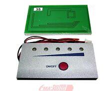 Capacity Voltage tester indicator for 11.1v LiPo Li-ion or 12V Lead-Acid battery