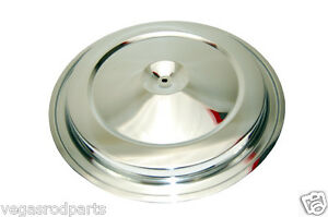 1988-92 CHEVY/GMC TRUCK CHROME STEEL AIR CLEANER TOP fits original filter housin