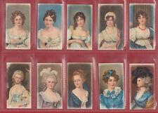 R. J.  LEA  LTD. -  RARE SET OF 50  MINIATURES  ( NO  BORDER )  CARDS  - 1912