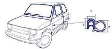 Guarnizione vano porta dx e sx Fiat 126