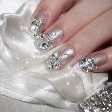 New Flat Back 1440Pcs SS8 Diamond Crystal Rhinestones For Nail Art Gem Hotfix