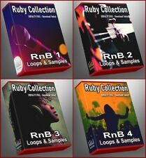 RnB Ultimate Ruby Collection Loops Samples Ableton FL Studio Cubase Reason Drums