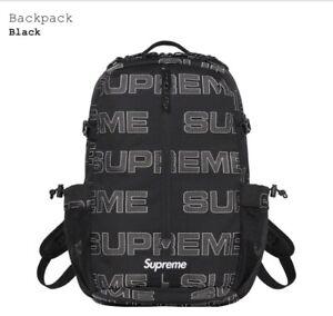 Supreme Backpack Black FW21