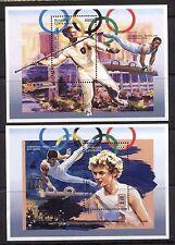 SPORT: ATLANTA OLYMPIC GAMES ON CENTRAL AFRICA 1996 Scott 1118-1119, MNH
