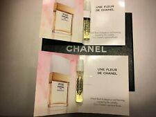 CHANEL Une Fleur de Chanel Eau de Toilette sample x 2 very rare!!!!!!
