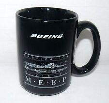 BOEING 14 OZ FABRICATION DIVISION M-E-E-P MEEP COFFEE MUG FLIGHT CUP