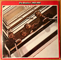 THE BEATLES  / 1962-1966  APPLE 1973 2LP's  w/ INSERTS  SCARCE  NEAR MINT-