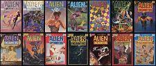 Alien Encounters 1 2 3 4 5 6 7 8 9 10 11 12 13 14 Full Set Eclipse Comic Lot UFO