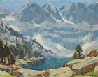 Edgar Payne La Marque Lake High Sierra Canvas Print 16 x 20   # 7146
