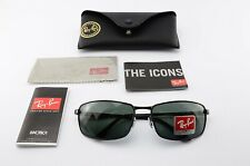 RAY-BAN LUXOTTICA Brille RB3498 002/71 135 3N Sunglasses Black Italy Large CE