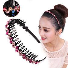 Fashion Women's Crystal Rhinestone Headband Hairband Hair Hoop Hair Accessories
