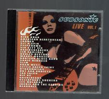 SUBSONIC LIVE VOL 1.  RARE CD 2001