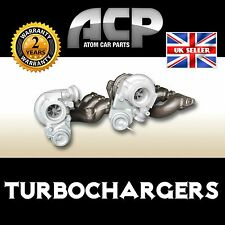 Set of Two Turbochargers for Volvo XC90 T6 . 2922 ccm,  272 BHP,  200 kW.