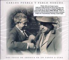 Dos Voces de America en un Canto a Cuba by Carlos Puebla (CD, 2000, Egrem) NEW