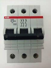 Abb, S273-K10A, Circuit Breaker, 3P, 277/480Vac, 10A, 10Ka, Vde0660, New Surplus