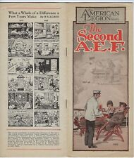 """American Legion Weekly, 2/6/1926 covers """"2nd A.E.F.,"""" Legion Convention in Paris"""