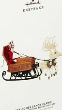 New 2019 Hallmark Nightmare Before Christmas Here Comes Sandy Claws Ornament