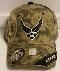 NEW United States Air Force Military Camo Baseball Cap Hat Adjustable