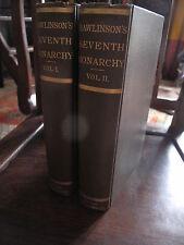 Rawlinson The Seventh Oriental Monarchy, Sassanian Persian Empires 2 vols. 1882