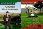 SWING SIMPLE COURSE MANAGEMENT  SHORT GAME PUTTING CHIPPING DVD VIDEO