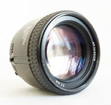 Nikon Nikkor AF 85mm f/1.8 Lens * HAS DEFECTS, READ * UK Based * Ships Worldwide