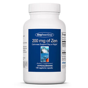 Allergy Research Group - 200 mg of Zen - Stress Relief - 120 Vegetarian Capsules