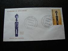 COTE D IVOIRE  - enveloppe 1er jour 21/2/1976 (cy75)