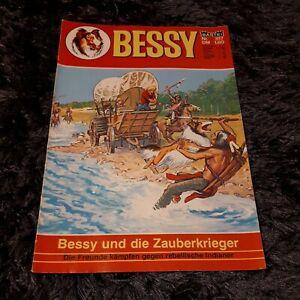 BESSY Nr. 817 mit Magazinteil, schöner BASTEI Western-Comic 1981